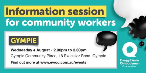 Community worker info session - Gympie